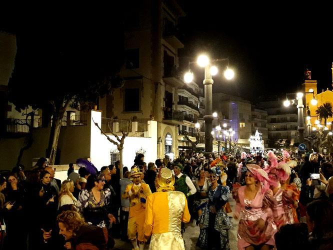 Праздники Каталонии и Барселоны. Карнавал.