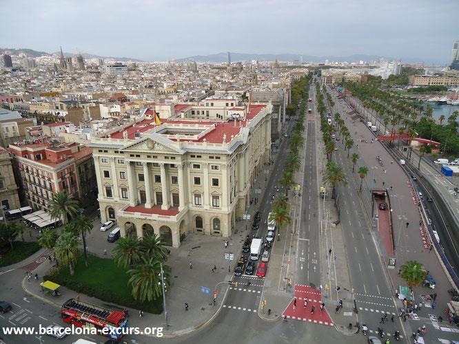 Проспект Колумба, Барселона