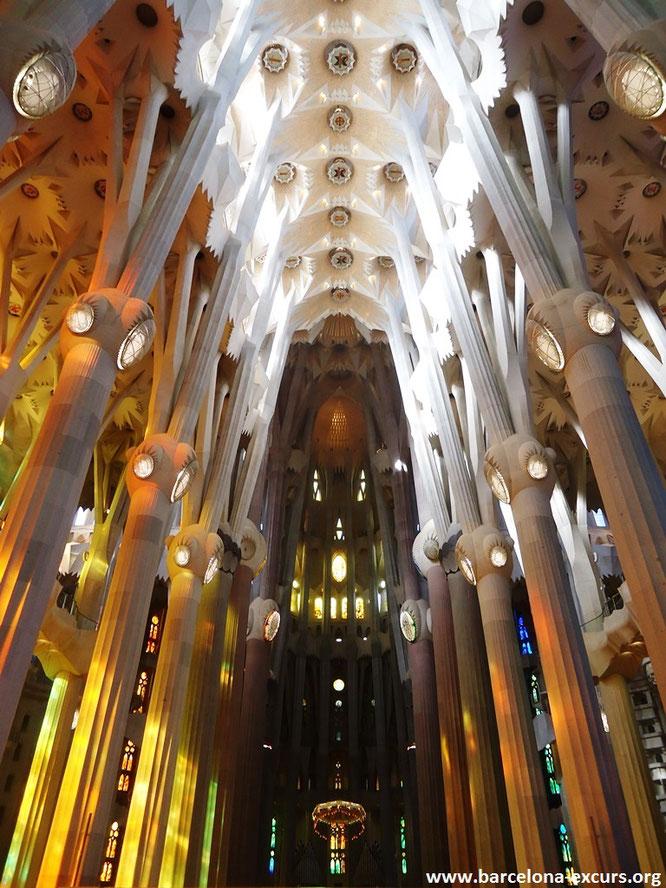 Саграда Фамилия, Барселона - центральный неф