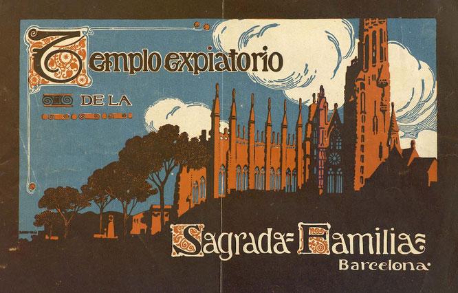 Альбомы Храма - базилика Святого Семейства в Барселоне