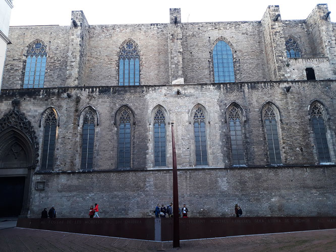 Сантка Мария дель Мар - секреты старой Барселоны