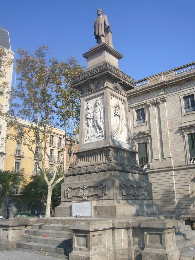 Антонио Лопес. Скульптуры Барселоны