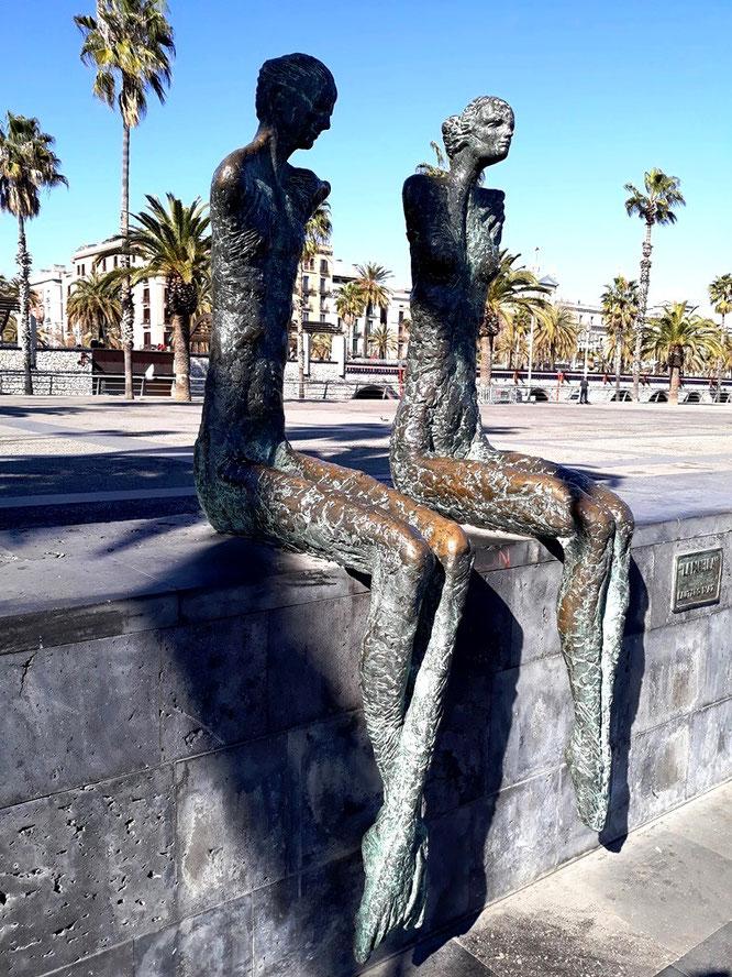 Уличноен искусство Барселоны. Гиды в Барселоне, эксурсии в Барселоне