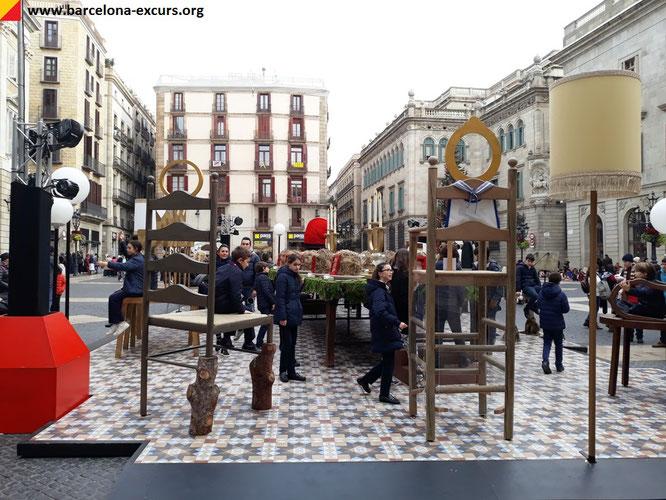 Барселона, Рождественский вертеп 2018