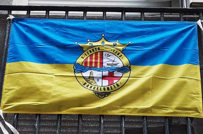 Флаги Барселонеты, флаги Барселоны, гиды в барселоне, экскурсии в барселоне