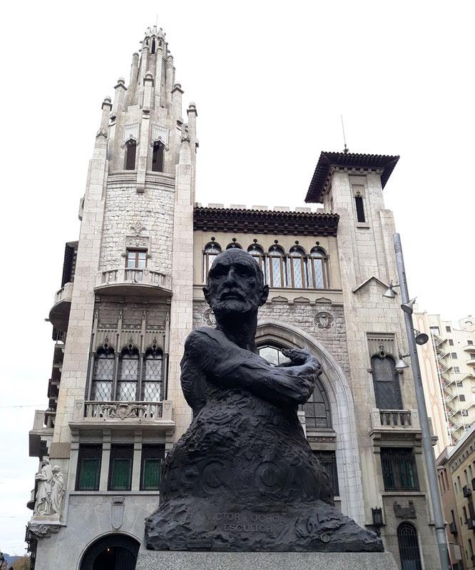 Уличное искусство Барселоны. Скульптуры и памятники Барселоны