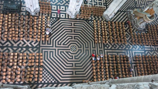 Лабиринты в церквях. Храм Святого Семейства в Барселоне