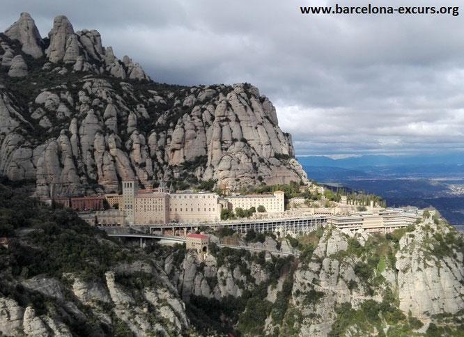 Монсеррат, Каталония. Барселона-Экскурс - гиды и экскурсии в Барселоне