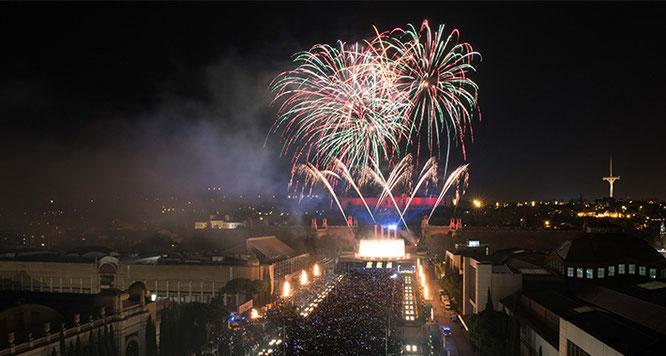Новый год в Барселоне 2019