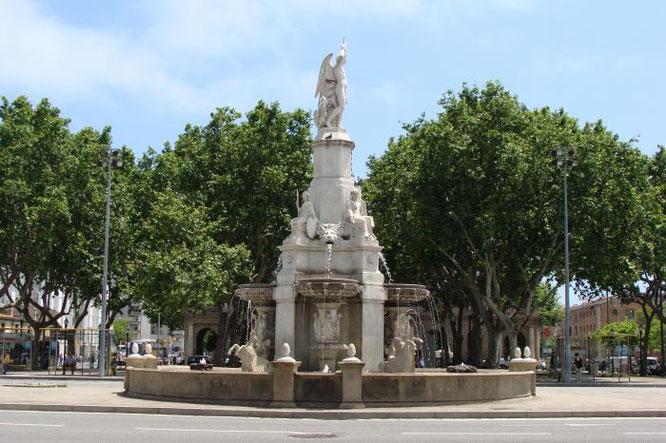 Памятник Каталонскому Гению, Барселона