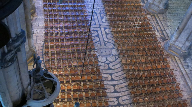 Лабиринты в церквях. Храм Саграда Фамилия в Барселоне