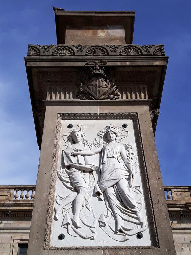 Памятник Антонио Лопесу, Барселона