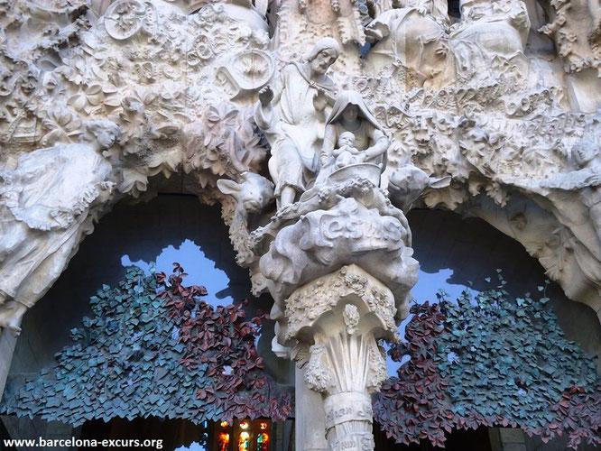 Живые скульптуры Антонио Гауди