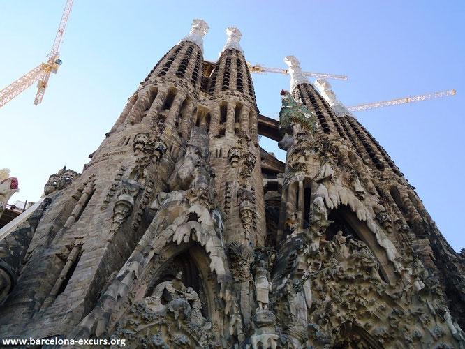 Искупительный Храм Святого Семейства в Барселоне (Саграда Фамилия) - история строительства