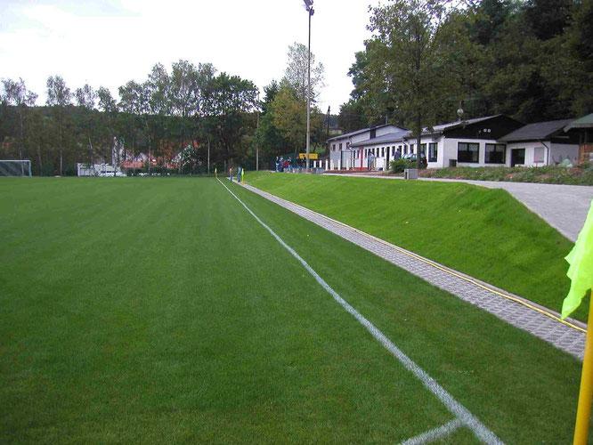 Das neuen Mühlwiesstadion ab 2003