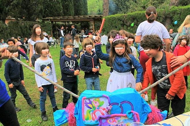 Pignatta feste per bambini roma