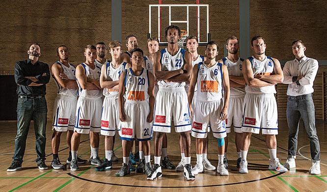Die 1. Herren-Basketballmannschaft des VfL Stade in der Saison 2018/19. (Foto: Elsen)