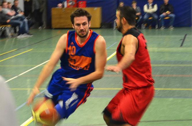 Auch Topscorer Christian Möller konnte die Niederlage nicht abwenden. (Foto: Moradi)