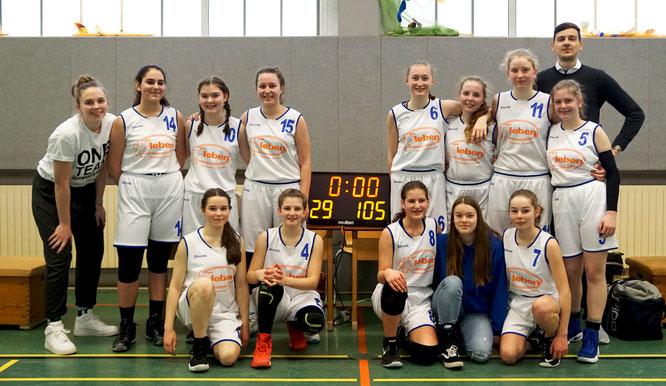 Meister, Titelverteidiger, Aufsteiger: Die U16-Mädchen spielten eine perfekte Saison in der Bezirksliga. (Foto: Vollmers)