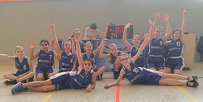 Mit einem 102-Punkte-Vorsprung gingen die U12-Mädchen bei den Uelzen Baskets als Sieger vom Feld.