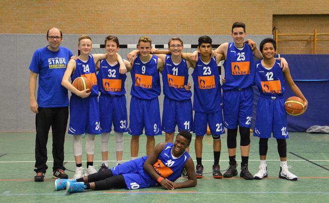 Die Reiter-Truppe freute sich über den verdienten und lang ersehnten ersten Landesliga-Erfolg. (Foto: Moradi)