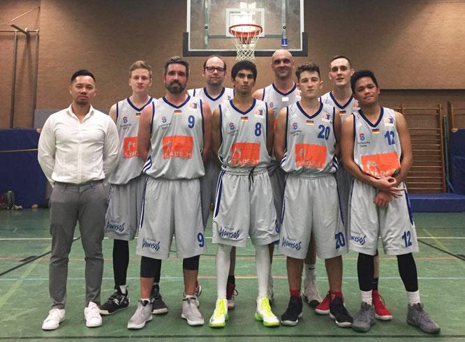 Besiegten am Samstag die bis dato ungeschlagenen Weser Baskets II: Unsere 2. Herren. (Foto: Moradi)
