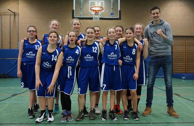 Die U15-Mädchen konnten auch vom TSV Lamstedt nicht gestoppt werden. (Foto: Fromme)