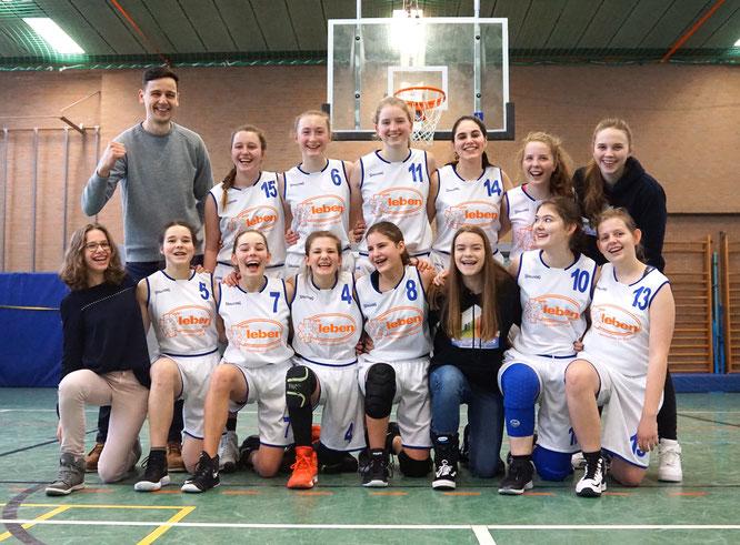 Die U16-Mädchen haben die Chance auf eine perfekte Saison. (Foto: Maibohm)