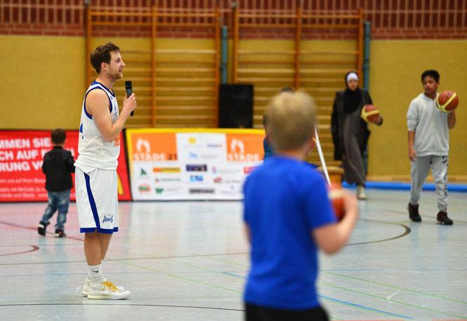 Martin Kemp geht nach drei Jahren VfL Stade Basketball (davon zwei Jahre als Kapitän) von Bord. (Foto: Elsen)