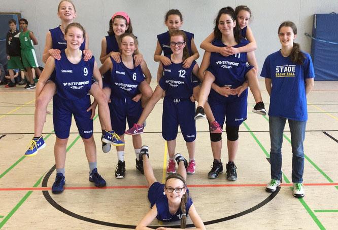 Die U14-Mädchen zeigten sich erneut in Spiellaune. Nach zwei Siegen in Folge wartet am Samstag in Lamstedt ein echter Härtetest.