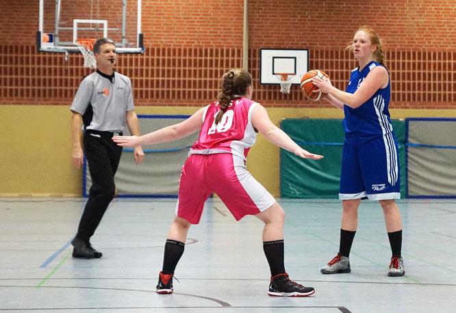 Auch zehn Punkte von Topscorerin Anna von Bremen verhalfen den Stader Damen nicht zum Sieg. (Foto: Moradi)