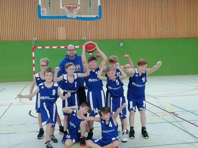 U12-Jungs siegen mit starker Mannschaftsleistung in Brinkum.