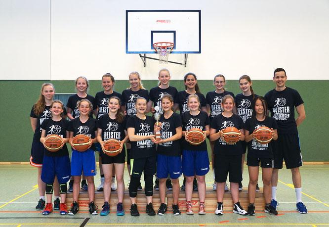 Wollen sich in der nächsten Saison ähnlich erfolgreich präsentieren: Die Mädchen der wU15. (Foto: Reiter)