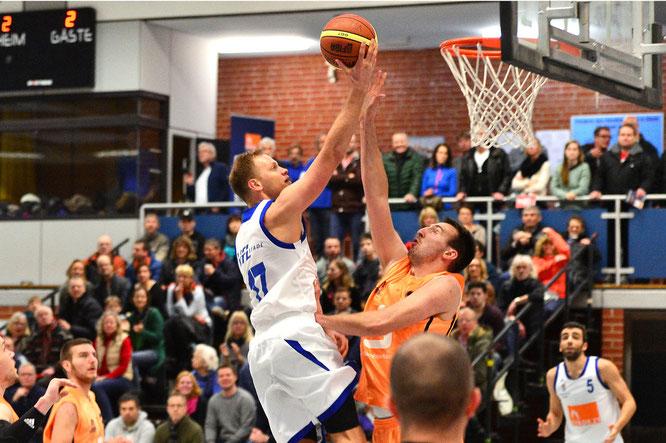 Florian Bunde erzielte 16 Punkte. (Foto: Elsen)