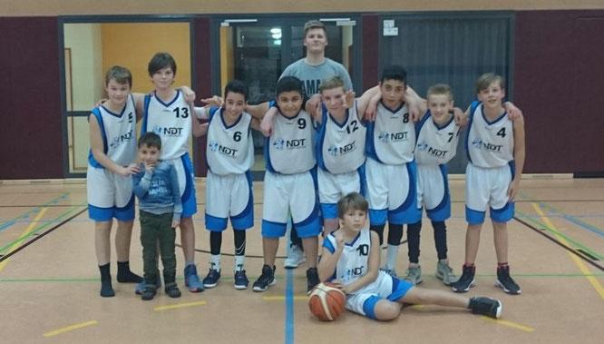 Auftakt nach Maß: Unsere U14 III gewann ihr erstes Rückrundenspiel in Walsrode.