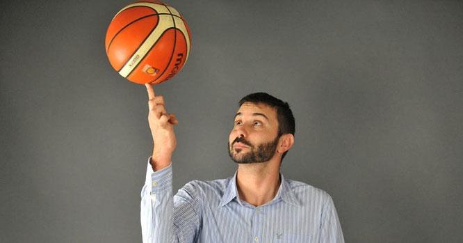 Im Leben von Joan Rallo Fernández dreht sich vieles um den Basketball – aber nicht alles. (Foto: Scholz)