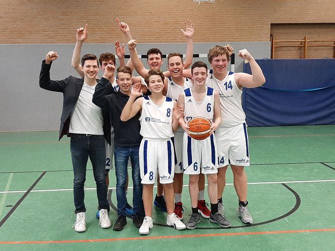 Erfolgreiche Revanche für die U18 Jungs.
