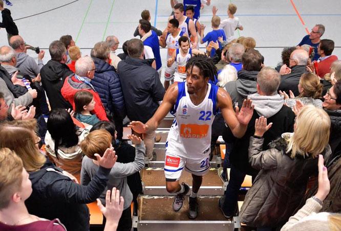 Starke Vorstellung: Nach der 91:97-Niederlage in Westerstede, gewinnen die 1. Herren daheim 109:86 über den ASC Göttingen.
