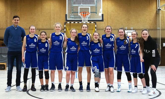 Im Hinspiel gegen den TuS Ebstorf nur mit vier Punkten Vorsprung gewonnen, gingen die U18-Mädchen dieses Mal mit einer 20-Punkte-Führung als Sieger vom Platz.