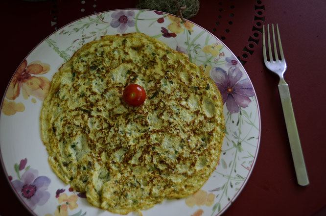 Food, Frittata, Zucchini, Courgettes, Copyright, AincaArt, Ainca Kira, Foto und Text, Writer, Photographer, Photography