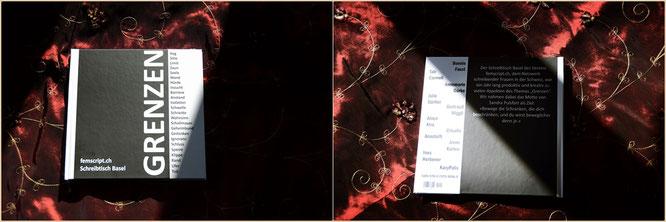 Anthologie Femscript Basel, Grenzen, Copyright, AincaArt, Ainca Kira, Foto und Text, Writer, Photographer, Photography, Quersatz