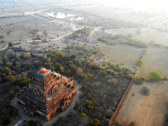 Sulamani temple from above