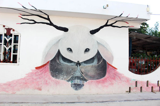 Mural on Isla Holbox