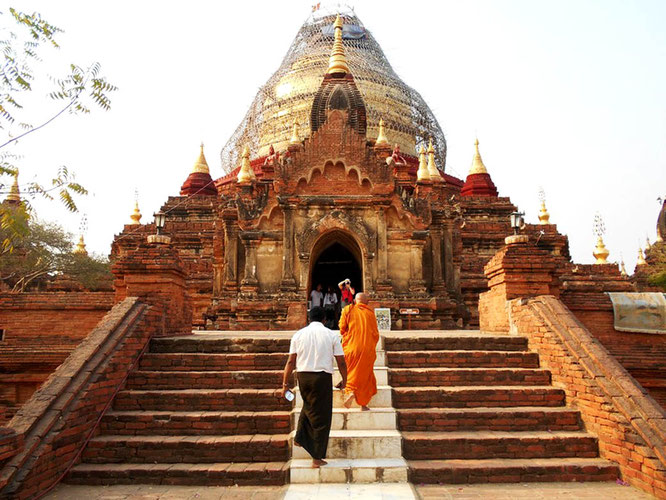 Dhammayazina temple in Bagan