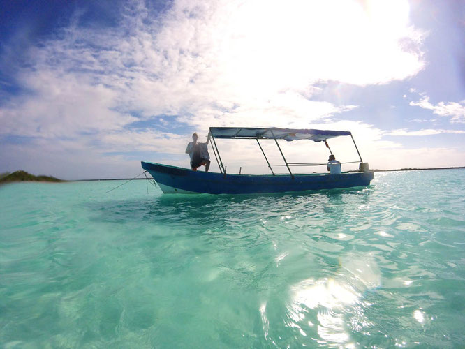 Lagoon in Bacalar