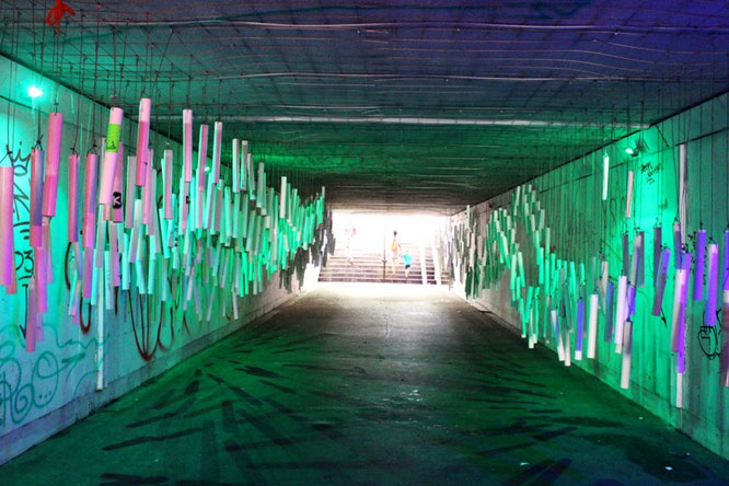 Underpass with Art in Katowice