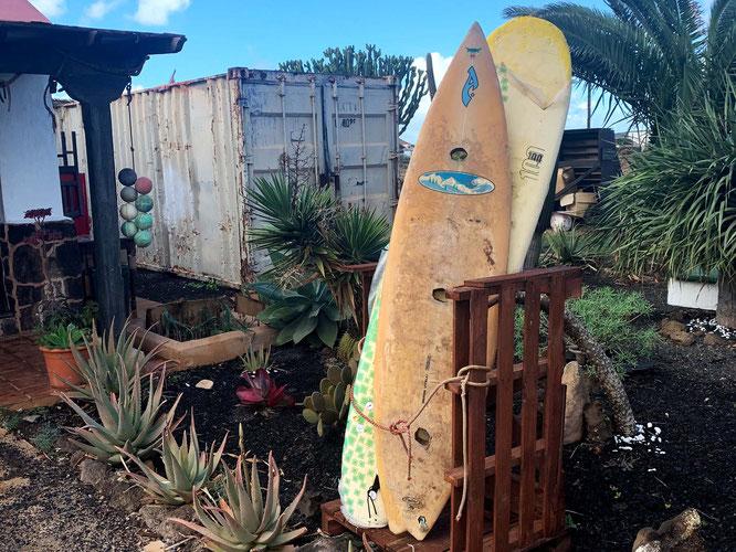 surfboards in Lajares