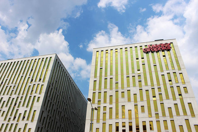 Mentor Graphics building in Katowice