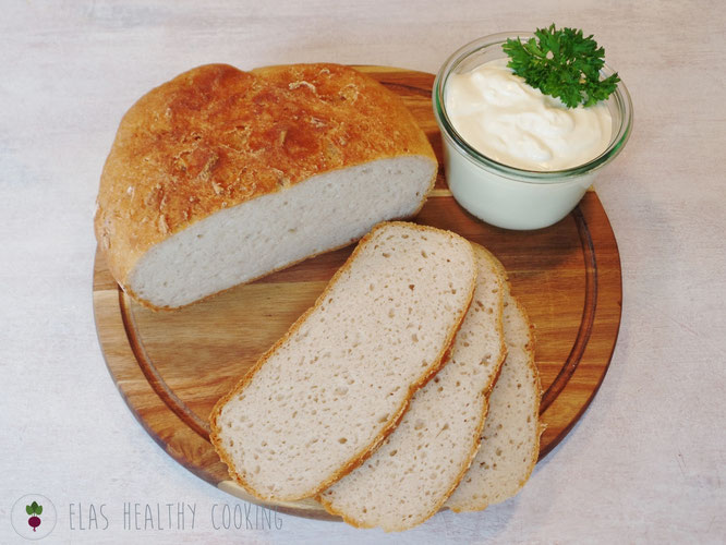 Glutenfreies Brot ohne Fertigmehlmischung