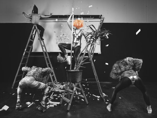 Installationsansicht, 2016 © Klasse Henk Visch